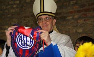 El Papa es hincha confeso de San Lorenzo de Argentina.